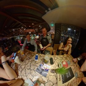 360 spherical DID (Dine in The Dark) is a roller coaster in 5 star comfort .... in BARSU cocktail Bar SHERATON BANGKOK the darkest room ever (200% dark), SM hub http://goo.gl/yfXqTQ  BEST HASHTAGS  #DineInDarkBkk #BkkEntertainment #Butterfly3d #theta360