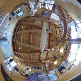 ルサフィールドハウスの中はこんな感じ。 #羅臼たのしー #羅臼 #知床 shiretoko-style.com/ho0444/ #theta360