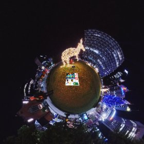 Kangaroo Mooditj Yongas 360 image 2019 Xmas Light Trails in Perth CBD FREE every night till December - virtual tour + official map, video, program in https://lnkd.in/gX_aiXu #XmasLightTrailsPerth   #ChristmasLightTrailsPerth   #Firefire3d #theta360