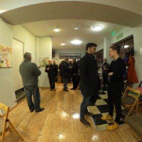 Откриване на изложба на Пламен Русев