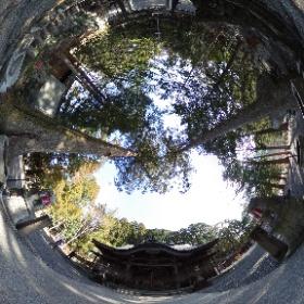 大正駅近くの熊野神社