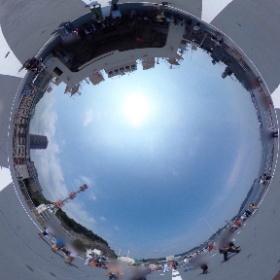 昨日のしらせ5003の360度写真2。#よりもい #theta360