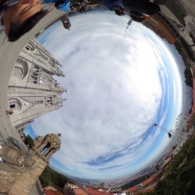 Temple of the Sacred Heart of Jesus in Barcelona. #theta360