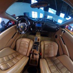 2005 Ferrari F430 interior 360 degree interior view
