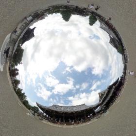 #東本願寺# 御影堂 #HigashiHonganji #Mikagedo #RICOH #thetas #パノラマvr #panoramavr #Japan #京都 #Kyoto #theta360