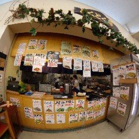 とくとく亭。ビックツー内の食堂。ボリュームがかなり満足感ある感じ。#奄美お試し移住 #課長奄美