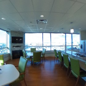 A 360 view of our Southview Dining Room for patients. #theta360