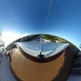 La Romana, DR, as seen from the front of the Carnival Vista #theta360