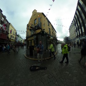 #busking in #galway360 #craicingalway #divmedia #thekingshead #theta360