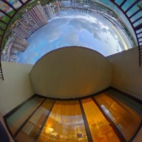 ヒルトンホテルオーシャンビューからの景色(昼) #miku360 #theta360