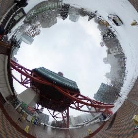 さっぽろテレビ塔 階段周辺 #まるちゃん写真集  #まるちゃん北海道旅行 #theta360