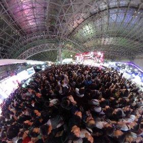 360°全天球カメラ撮影 東京ゲームショウ2018 #TGS2018 #theta360