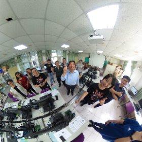 2019.10.22 台北市民權國中 AR 擴增實境 & VR 虚擬實境  科技領域教師研習