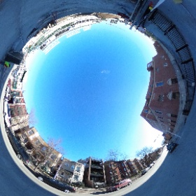 360 photo of residential and retail complex construction.