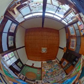 立松和平文庫 山中桃子 絵本 原画展 #theta360