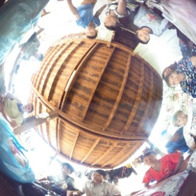 Plastics bags collect ! #theta360