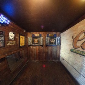 Little Woodrow's Dart Room #theta360