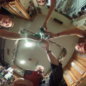 Friends hanging out #theta360