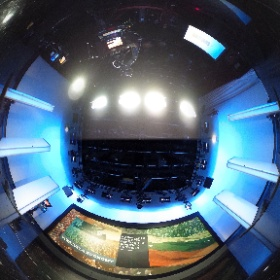 In Studio 12 this morning to record #AJCTC. Have a look! #theta360