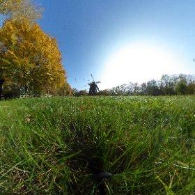 Herbst an der Britzer Mühle #theta360