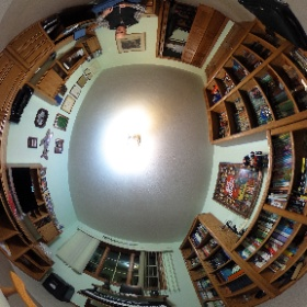 My first 360 spherical degree camera post.  Use navigation tools below to look around my office.