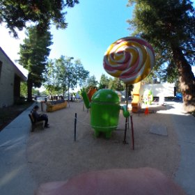 Hello, Lollipop!  #theta360