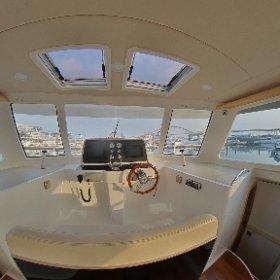 Bestyear Luxury catamaran motor yacht 38                      Cabin #theta360