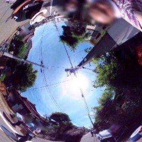 昨日きた全天球カメラで(笑)