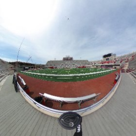 🌰📍 Welcome to Bloomington!  360-degree look before Buckeyes & Hoosiers kick off 2017 🏈 season