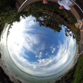 Rainbow Beach in Gold Coast #theta360