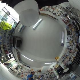 Casa Verde Ferragens - Curitiba  - Foto Panorâmica 360 graus #theta360