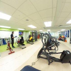 Outpatient #rehabilitation gym. #theta360
