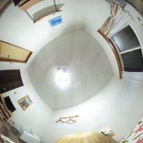 宿泊先のお部屋の中をTHETAで撮影! #theta360