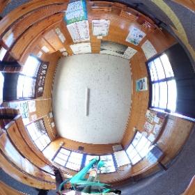 去年の海ノ口駅。編集の仕方のテスト。 #miku360 #theta360
