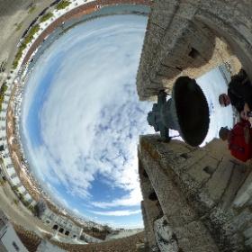 Faro view #travel #360view #clocktower #faro #portugal #theta360