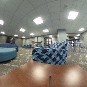 Go inside the Heider Hall 1st floor renovation @Crieighton. #Reslife #WeDontCoast  #theta360