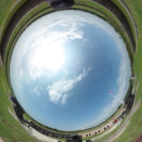 I'm in a fort. fort Macon nc    #theta360