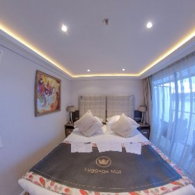 Take a 360 degree look around our category AA room (310) aboard the #AmaWaterways #AmaLea! #wlr310 #theta360