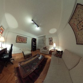 A consultation room at the Behman Consultations clinic in Zamalek.  http://behmanconsultations.com