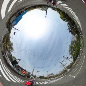 Ayashi Musium #bike #izu #sky #road #theta360