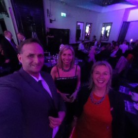 360 picture with the boss @WestCollScot principal Audrey Cumberford at the #2016Rocco awards @westcollscot #theta360
