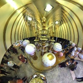 inside the dome #theta360