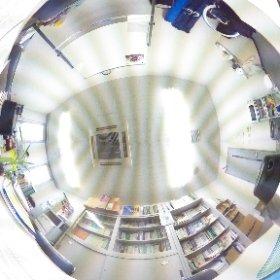 健康心理学科,村上研究室の全天球イメージを撮影しました. #theta360