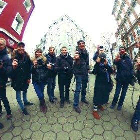 Finisher photo of the #COSYSPEED photowalk in #Hamburg today. #theta360 #theta360de