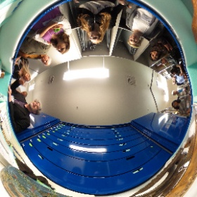 What's in the other drawers @Magnes #Berkeley? Great archive tour with Brewster Kahle and Cal DH.  #theta360