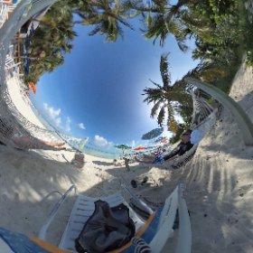 Relaxing on the adults only beach at #CastawayKey. 😊 #disneydream #cruise #theta360