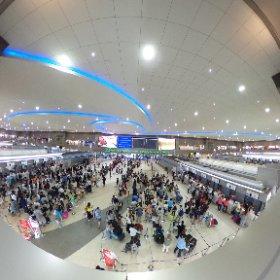 ドンムアン空港 #theta360