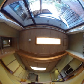ホテル東横の客室。411号室の露天風呂付き和洋室です。360度撮影でご覧下さい。