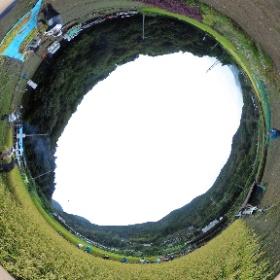 2018/09/22におこなわれた、田んぼできずなの稲刈り風景です  #田んぼできずな #20180922  #theta360