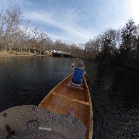 #屈斜路湖 から #釧路川 へ #カナディアンカヌー #theta360